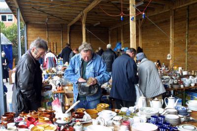 Foto zu Meldung: Regelmäßiger Flohmarkt