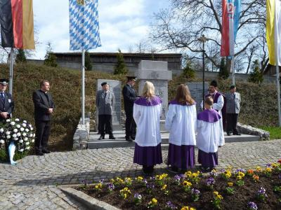 Foto zur Meldung: Krieger - Jahrtag mit Jahreshauptversammlung – Ehrung langjähriger Mitglieder