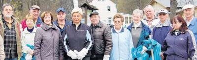 """Foto zu Meldung: Umweltsäuberungsaktionen in Elbingerode  """"ertragreich"""" -  Rund 40 Säcke voller Müll"""