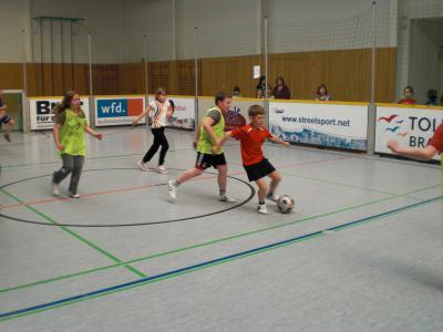 Foto zur Meldung: Straßenfußball