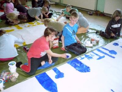 Foto zur Meldung: Letzter Schultag=Projekttag