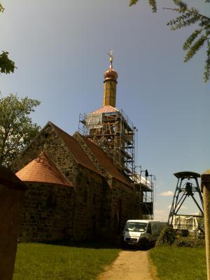 Foto zur Meldung: Werbig hat wieder einen Kirchturm