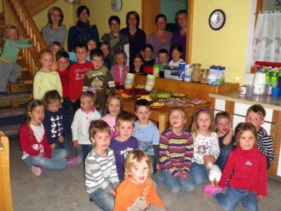 Foto zur Meldung: Gesundes Frühstück im Kindergarten St. Georg