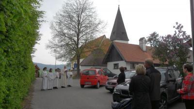 Foto zur Meldung: Gottesdienst mit feierlichem Marienlob