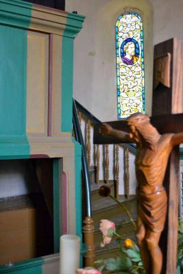 Foto zu Meldung: Kirche Reupzig wird neu ausgemalt