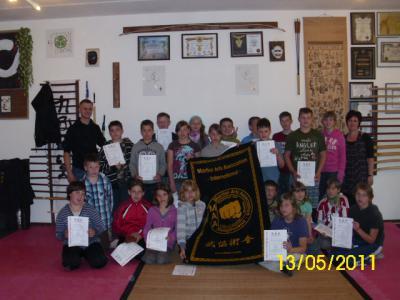 Foto zu Meldung: Statt Klasse 5 - jetzt TEAM  5 in der Grund- und Oberschule Schenkenland