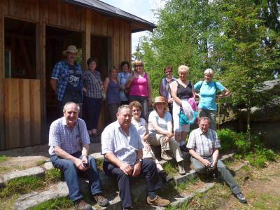 Foto zu Meldung: Die Gartler unterwegs im Falkensteiner Vorwald