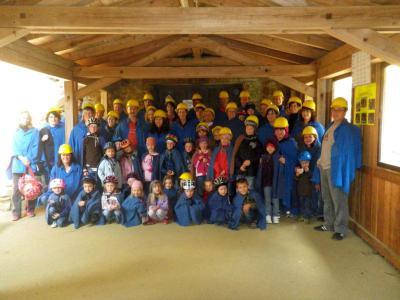 Foto zur Meldung: Familienausflug ins Silberbergwerk