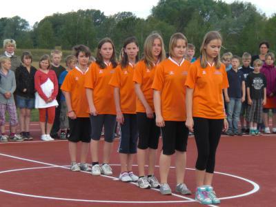 Foto zur Meldung: Neue Schul- und Freizeitsportanlage eingeweiht.