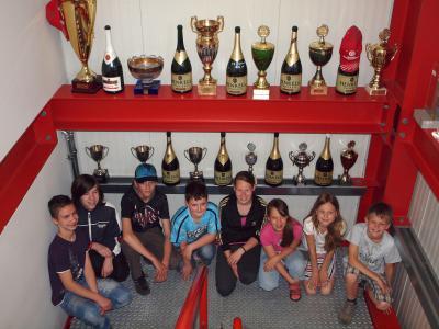 Foto zu Meldung: Benzin im Blut…? Groß Köriser Schüler bei Mücke- Motorsport