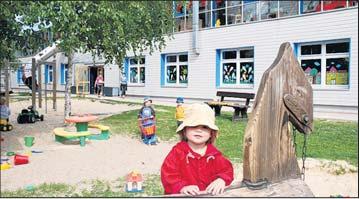 """Foto zur Meldung: 15 Jahre Kinderhaus am Amt: Da """"rappelt's"""" gewaltig im Zirkus"""
