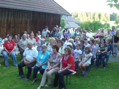 Foto zur Meldung: Maiandacht bei der St. Josef Kapelle