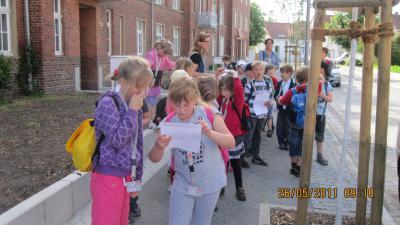Foto zur Meldung: Wandertag Klasse Flex A