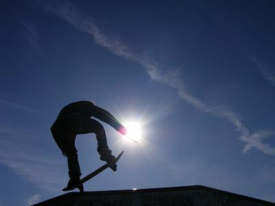 Foto zur Meldung: 04. Skateboard- & Inlinercontest in Borna/Ost