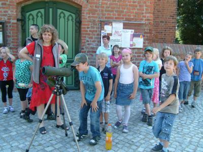 Foto zur Meldung: Offener Unterricht in Rühstädt