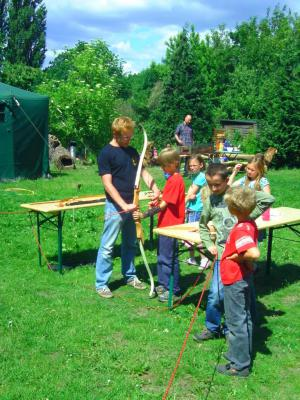 Foto zu Meldung: Wandertag zur Jugendwerkstatt Hönow e.V.