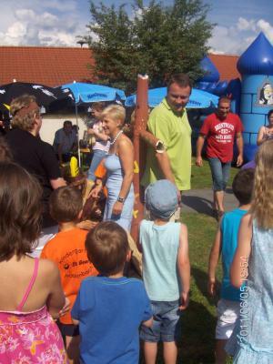 Foto zur Meldung: Sommerfest im Kindergarten war ein Riesen Erfolg - Eine Reise zu den Indianern