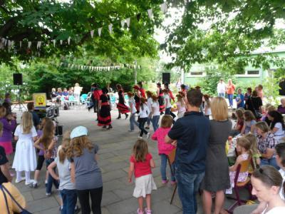 Foto zur Meldung: Kinderfest brachte allen Spaß