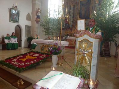 Foto zur Meldung: Patrozinium zum Geburtsfest Johannes des Täufers