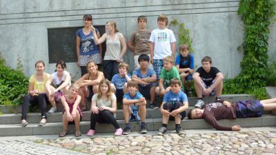 Foto zur Meldung: Klassenfahrt der Klasse 6b vom 14.06. bis 17.06.2011
