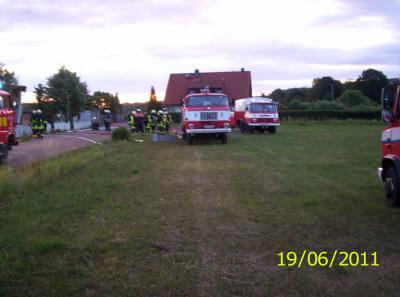 Foto zur Meldung: Wohnhausbrand in Meisdorf