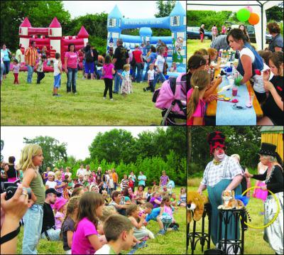 Foto zur Meldung: 2. Große Kinderfest in Werchow noch erfolgreicher als im letzten Jahr!