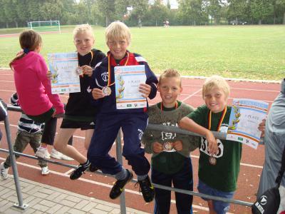 Foto zur Meldung: Landkreispokalwettkämpfe der Leichtathletik