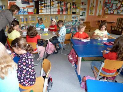 Foto zur Meldung: Der vorgezogene Schultag für die Vorschulkinder