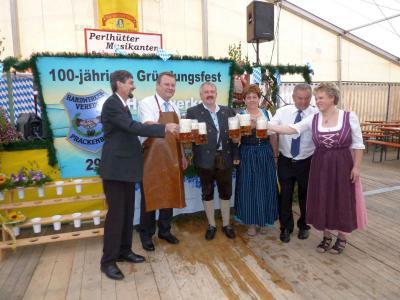 Foto zu Meldung: Der Auftakt zum 100-jährigen Gründungsfest des Handwerkervereins war einfach grandios