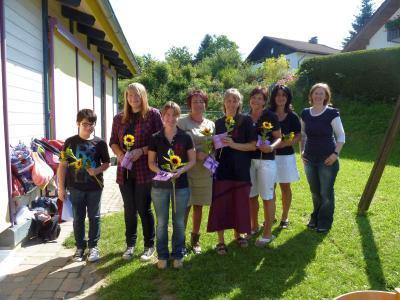 Foto zur Meldung: Abschlussfeier im Kindergarten