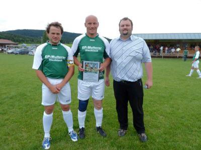 Foto zur Meldung: Der SV verabschiedet Fred Bauer – ein außergwöhnlicher Spieler