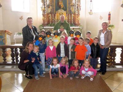 Foto zur Meldung: Kinder gestalteten Sonntagsgottesdienst mit