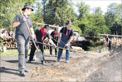 """Foto zur Meldung: Tausende bestaunen Harzer """"Schwarzarbeit"""""""