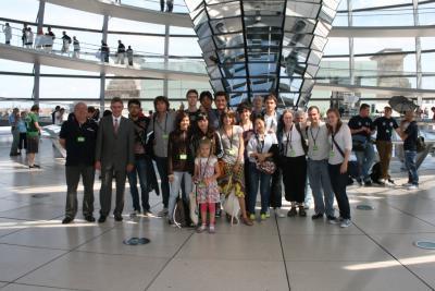 Foto zur Meldung: Zu Gast im Bundestag