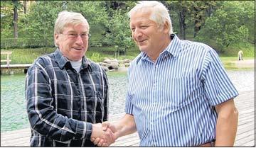 Foto zu Meldung: Klaus-Peter Hecht führt jetzt Wandergruppen