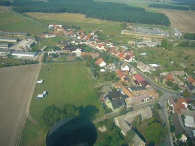 Foto zu Meldung: Bilder vom Rundflug über Jessnigk NEU auf jessnigk.de