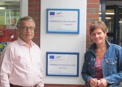 Foto zur Meldung: Comenius-Projekt mit Einrichtungen aus Niederlande und Schweden erneut genehmigt