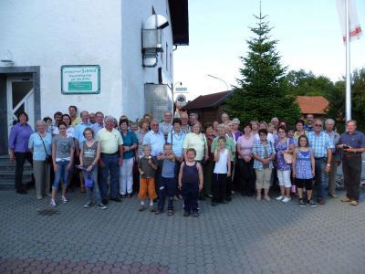 Foto zu Meldung: Der Gartenbauverein reiste in die Oberpfalz