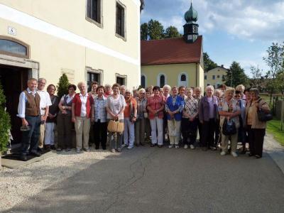 Foto zur Meldung: Seniorenausflug in die Oberpfalz