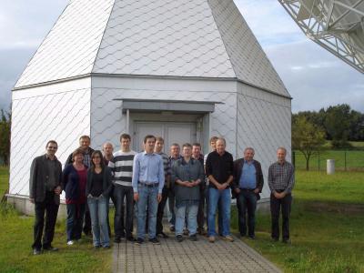 Foto zur Meldung: Die IMV und der Dorfverein zu Besuch in Wettzell