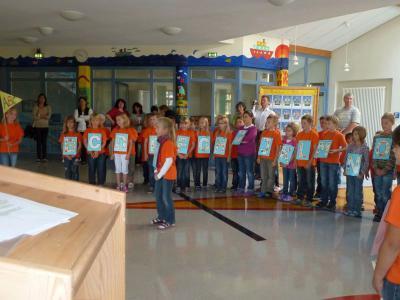 Foto zur Meldung: Mit dem Segen in ein neues Schuljahr