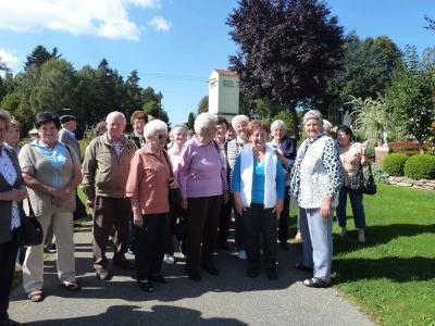 Foto zur Meldung: Beim letzten Ausflug der Senioren ging´s wieder in den Nachbarlandkreis Cham