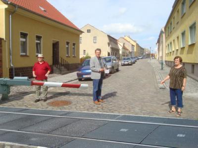 Foto zur Meldung: Einweihung der neuen Bahnlinie