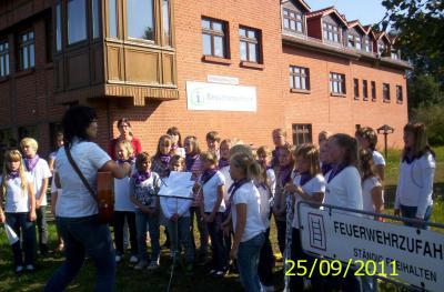 Foto zur Meldung: Hoffest in Rühstädt