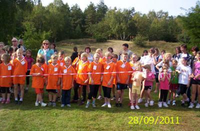 Foto zur Meldung: Kreiscrosslauf in Breese