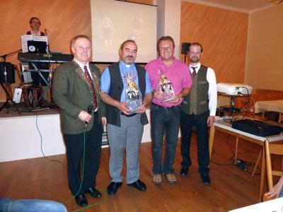 Foto zu Meldung: Stilvolle Abschlussfeier des Gründungsfestes der Edelweißschützen