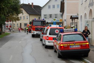 Foto zur Meldung: Austritt von Chlorgas in Schwimmbad in Indersdorf
