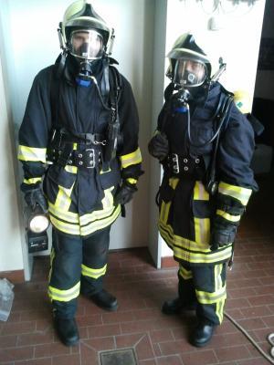 Foto zur Meldung: Ausbildung Atemschutzgerätetäger