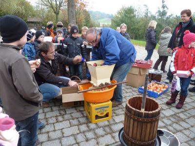 Foto zur Meldung: Aktionstage rund um den Apfel