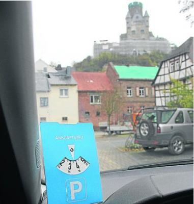 Foto zur Meldung: Ortsgemeinde: Parkscheibe ist in Zukunft Pflicht